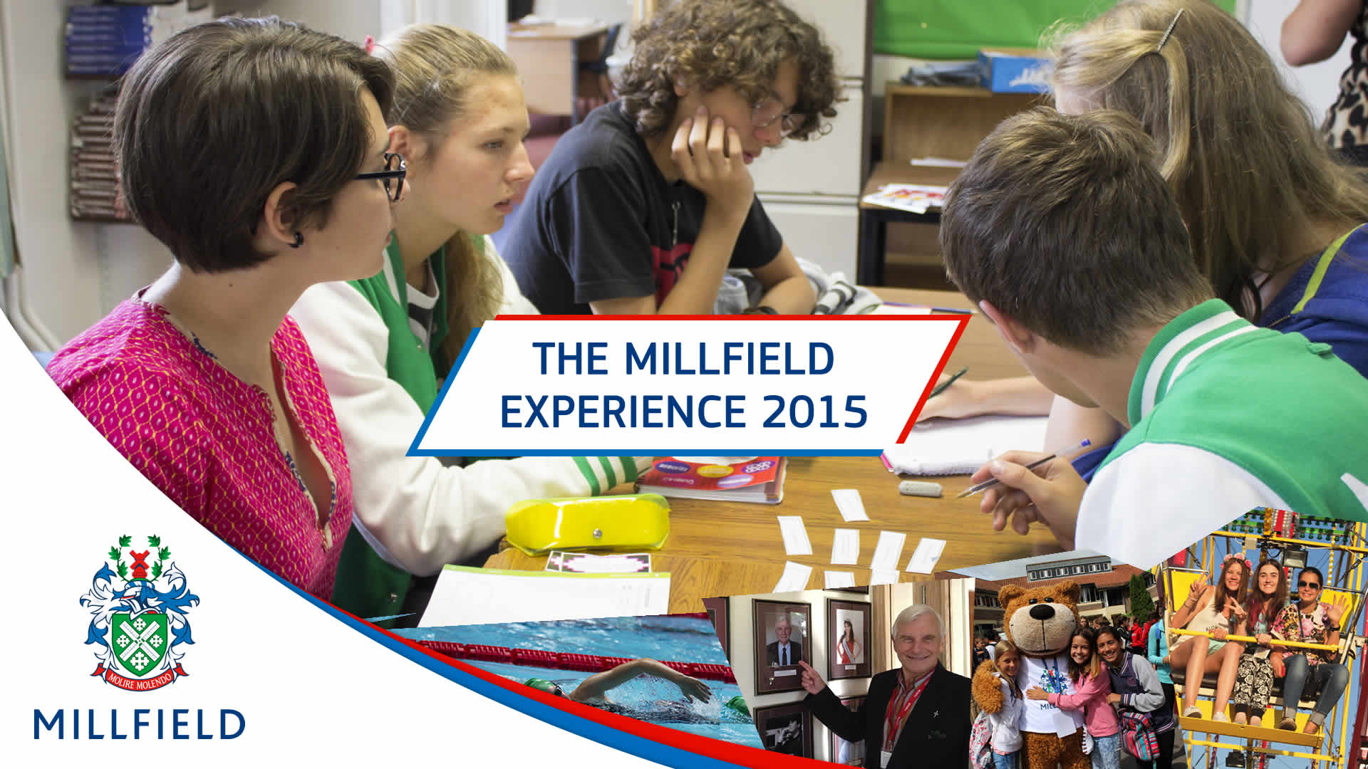 Millfield Experience Banner